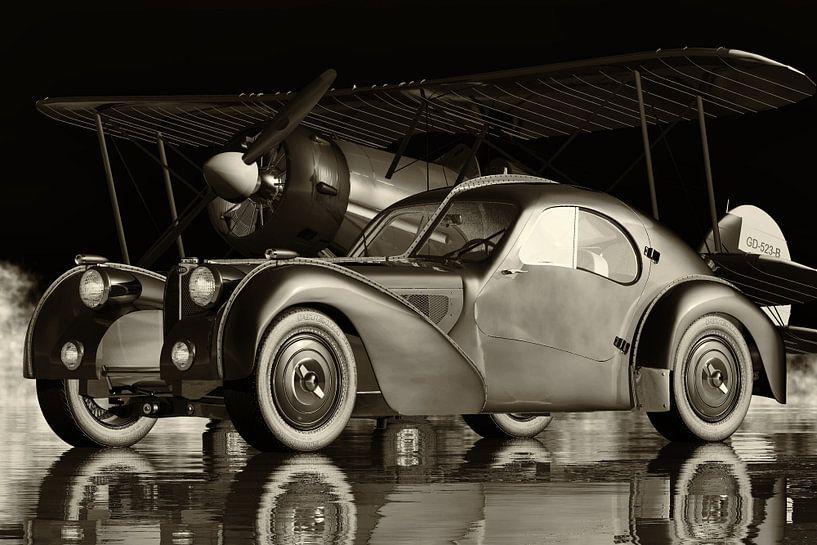 Bugatti 57-SC Atlantic de legendarische sportwagen van Jan Keteleer