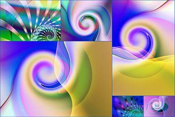 Collage 1 Balans van Claudia Gründler