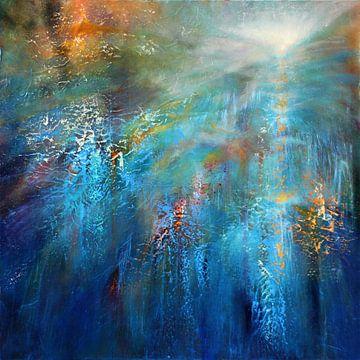 Nog een blauwe ochtend van Annette Schmucker