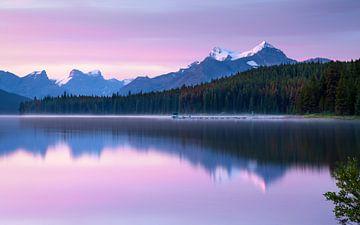 Maligne Lake, Jasper National Park, Alberta, Kanada von Alexander Ludwig