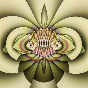 Phantasievolle abstrakte Twirl-Illustration 83/7