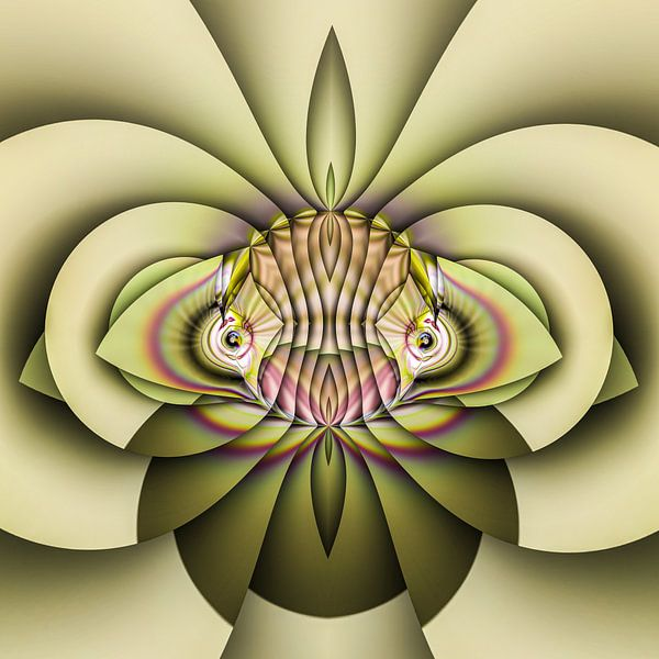 Phantasievolle abstrakte Twirl-Illustration 83/7 von PICTURES MAKE MOMENTS