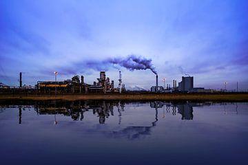 Reflexion von Raffinerien