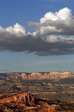 Wolkenlucht bij Bryce Canyon von Anouk Davidse