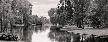 Panorama Stadspark te Kampen. van Benny van de Werfhorst