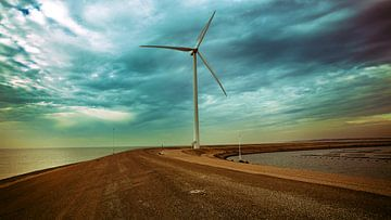 Windmolen in Zeeland van Bas Hermsen