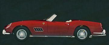 Ferrari 250 GT Spyder California 1960 van Jan Keteleer