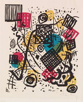 Kleine Welten V, WASSILY KANDINSKY, 1922 von Atelier Liesjes