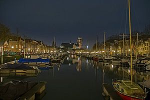 Dordrecht by night von Joyce Loffeld