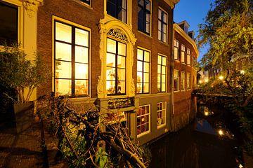 Kromme Nieuwegracht 43 in Utrecht van Donker Utrecht