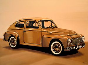 Volvo PV Schilderij