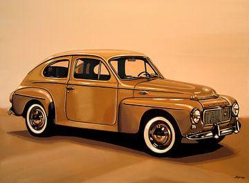 Volvo PV Schilderij van Paul Meijering