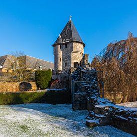 La tour pater vinck à Maastricht en hiver sur Kim Willems