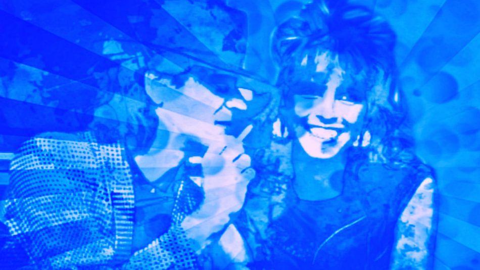 Udo Lindenberg und Nena Pop Art Pur Serie NO.1 van Felix von Altersheim