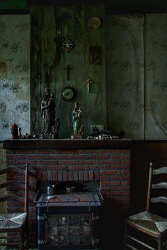 Verlaten huis interieur sur Melvin Meijer
