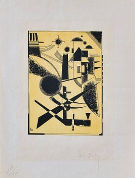 Lithographie No. III, WASSILY KANDINSKY, 1925 von Atelier Liesjes