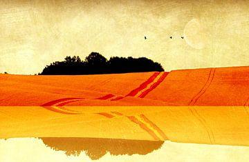 Landschaft van Heike Hultsch
