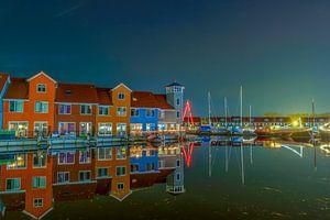 Reitdiep haven Groningen van