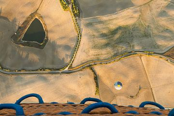Toscane vanuit de luchtballon