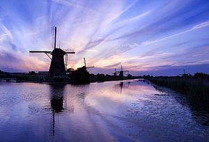 Kinderdijk Evening Blues