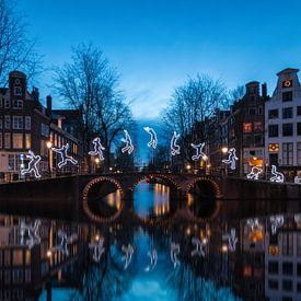 Amsterdam light festival sur Ilya Korzelius