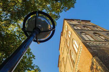 Blick auf die Marienkirche in Rostock sur Rico Ködder