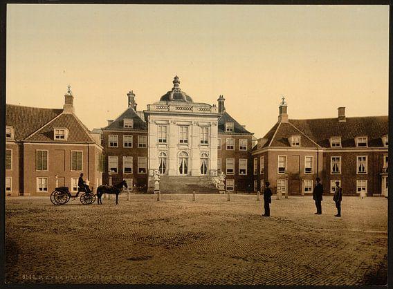 Paleis Huis ten Bosch, Den Haag van Vintage Afbeeldingen