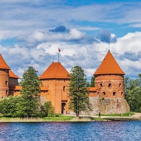 Trakai Island Castle, Lithuania sur Gunter Kirsch