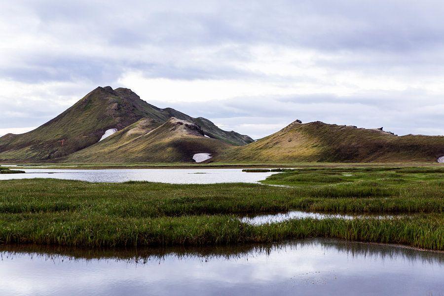 Berglandschap in Landmannalaugar