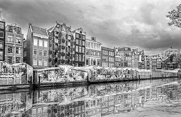 Der Blumenmarkt in Amsterdam von Ivo de Rooij