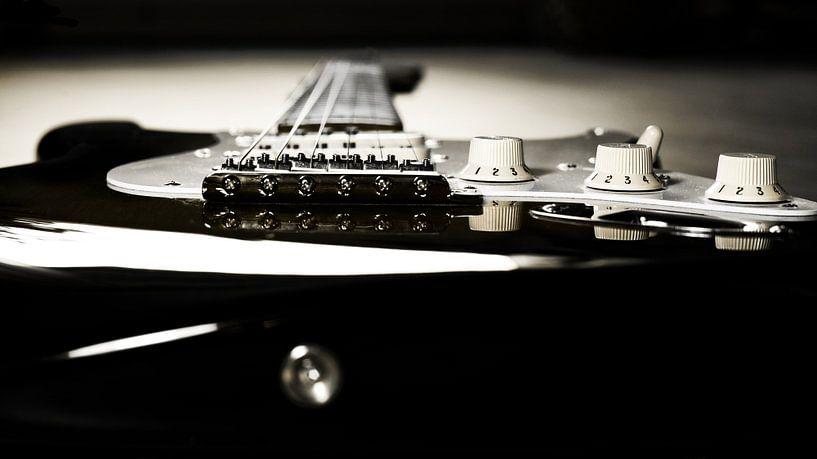 elektrische gitaar van Jana Behr