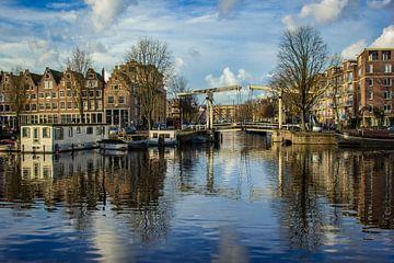 Ophaalbrug Westerdok-Zoutkeetsgracht Amsterdam van Lotte Klous