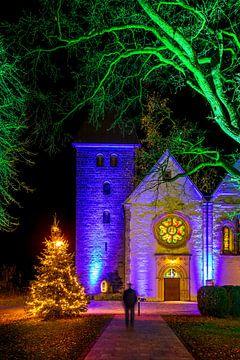 Winterleuchten 2020 an der Magtaretenkirche