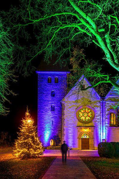 Winterleuchten 2020 an der Magtaretenkirche von Frank Heldt