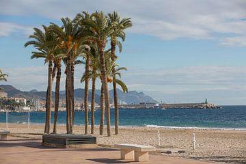 Strand van Joiosa in Alicante, Spain van Joost Adriaanse