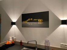 Kundenfoto: Modernes Stillleben Reine Claude von Monique van Velzen, auf leinwand
