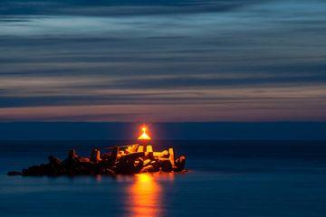 Ein Lichtblick in der blauen Dunkelheit ... von Hans Brinkel