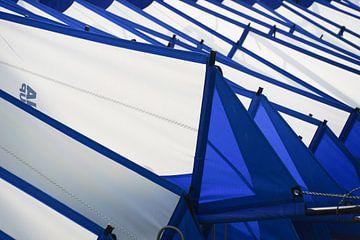 Windsurfzeilen klaar voor gebruik van Alice Berkien-van Mil