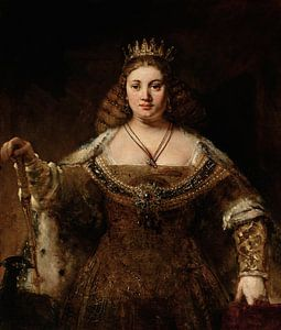 Juno, Rembrandt von Rembrandt van Rijn