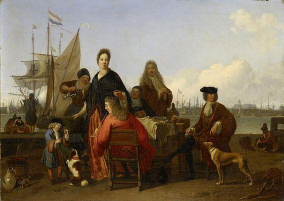De families Bakhuysen en de Hooghe, Ludolf Bakhuysen van Meesterlijcke Meesters