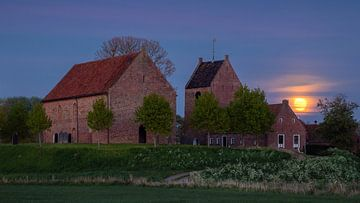 Kerkje van Ezinge Groningen van Marga Vroom