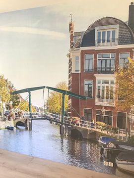 Klantfoto: In de stad Leiden