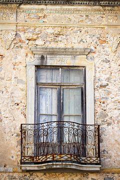 Brocante venster van Irene Lommers