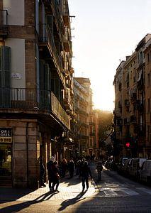 Nostalgisch Barcelona  van Giovanni de Deugd