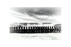 Storm op de Westerschelde van Evert Jan Looise