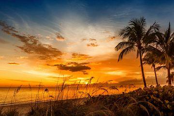 BONITA BEACH Traumhafter Sonnenuntergang von Melanie Viola