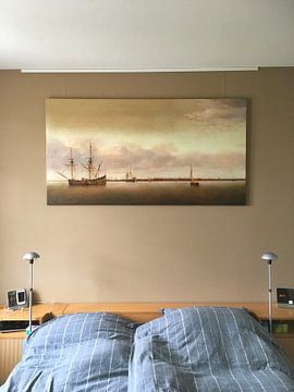 Kundenfoto: Ansicht von Hoorn, Abraham de Verwer