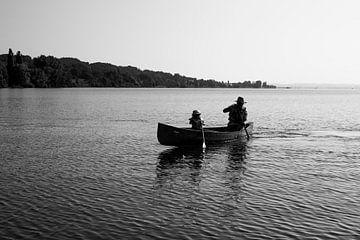 Kanufahren auf dem Bodensee von Manja Herrebrugh - Outdoor by Manja