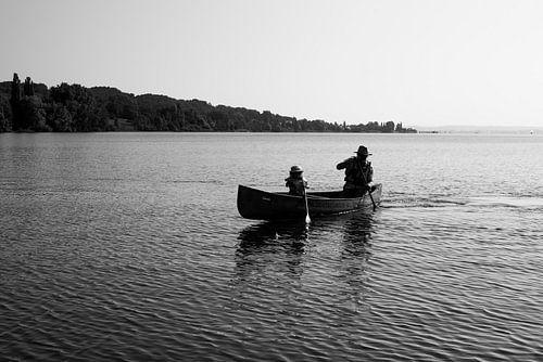 Kanoën op het Bodenmeer