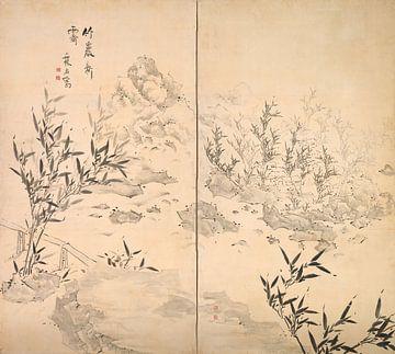 Ike Taiga. Bambus bei gutem Wetter nach Regen